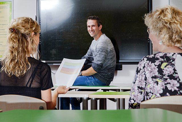 Leerling aan de leiding: trialoog met ouders en coach