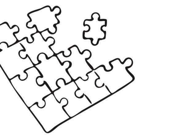 Puzzel het model