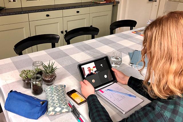 Griftland online (deel 2): 'Ik loop een virtueel rondje door de digitale klas'