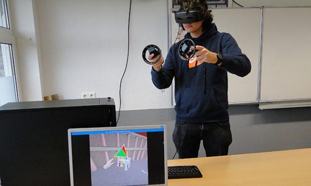 VR-brillen in de wiskundeles: een boost voor het ruimtelijk inzicht van leerlingen