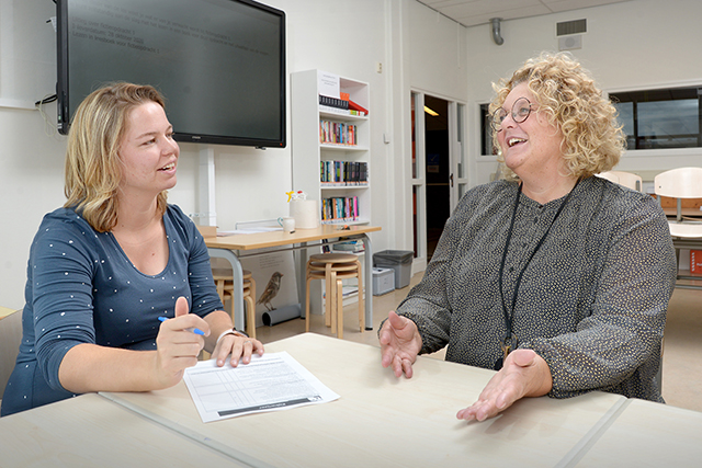 Een lerende cultuur: meekijken bij de lessen van collega's