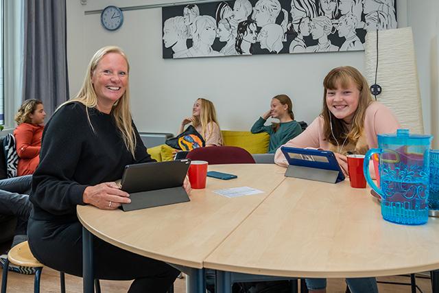Een rustige en veilige plek op school: de trajectruimte