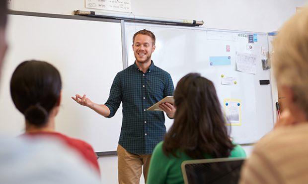 Dankzij beeldcoaching krijg je persoonlijke feedback op je les