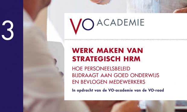 Werk maken van strategisch HRM